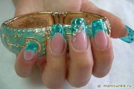 В дизайне ногтей весна лето 2013